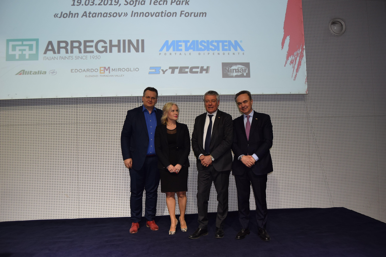 """Evento """"Il design nell'automotive - Pininfarina Design: Tradition and Innovation"""". Sofia, marzo 2019."""