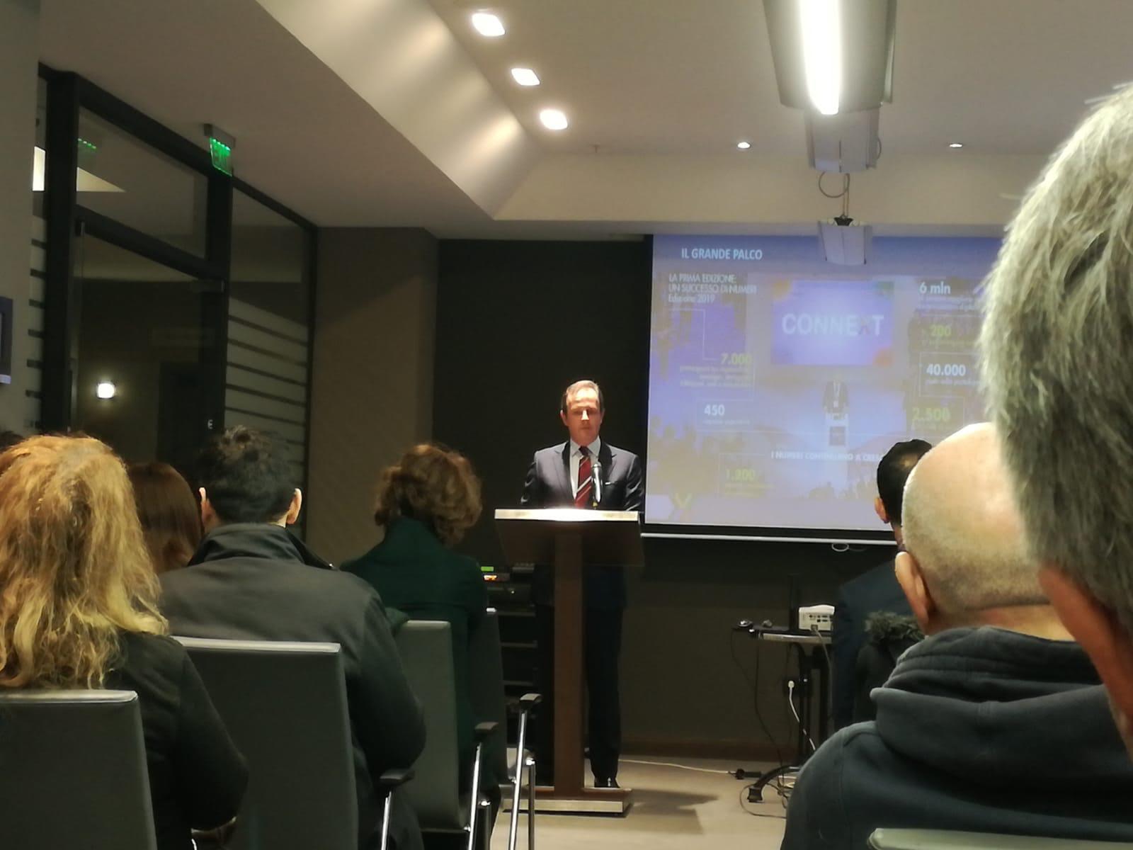 Presentazione Connext 2020 – Skopje, febbraio 2020.